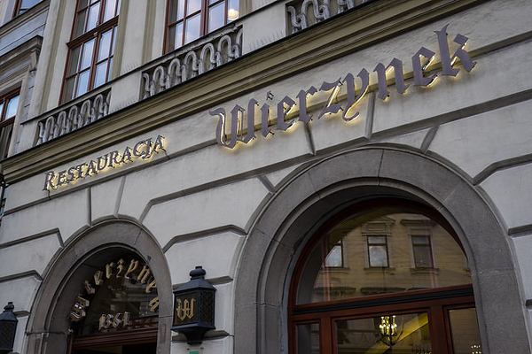 Wierzynek restaurant, Kraków. Photo credit: Davis Staedtler
