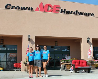 "Ace Hardware ""Blue Bucket Day"", 2016."