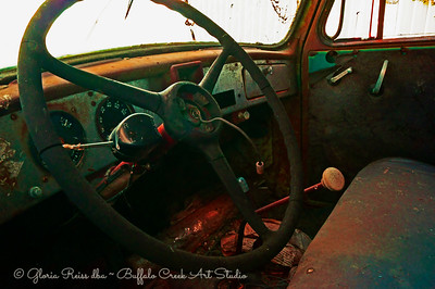 View of the dash