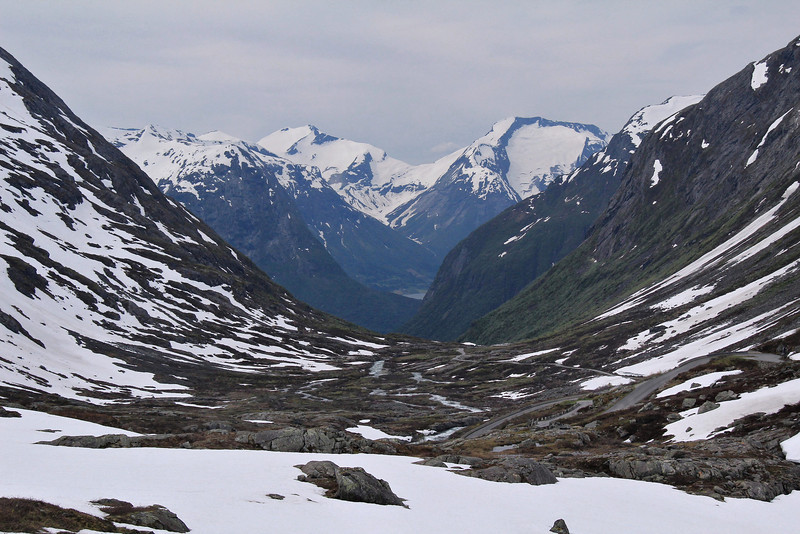 In the high country above Helleslyt, Norway, near Videseter, where we had lunch.