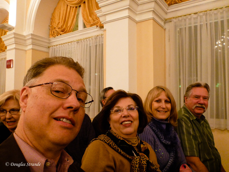Doug,Louise,June & Jerry at a concert in Vienna