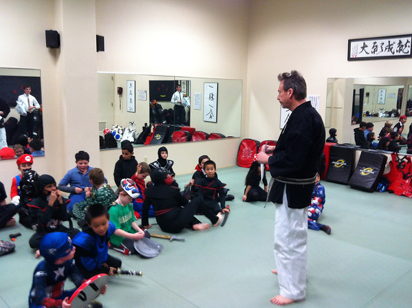 True Martial Arts Halloween Party (2013)