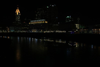 Columbus at Night 20150115