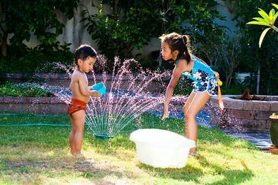 Water Fun:  July 27, 2014