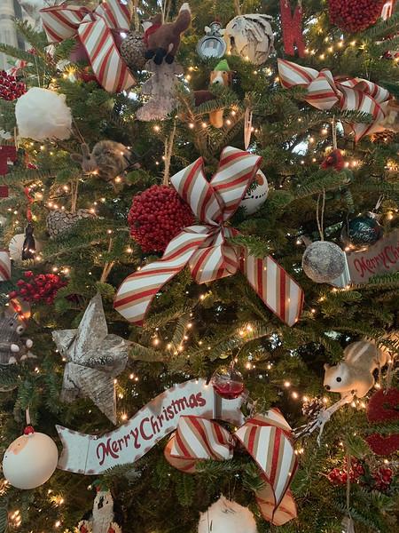Kati calls her 12-foot Christmas tree her winter wonderland.