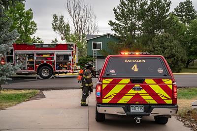 Hillridge Place House Fire