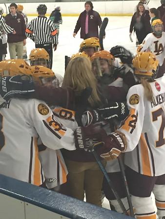 Girls' Hockey vs. NT state semi-final