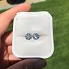4.08ctw Old European Cut Diamond Pair, GIA I VS2, I SI1 57