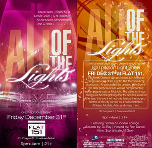 ALL OF THE LIGHTS The Premiere NYE Countdown Event  DEC 31, 2010
