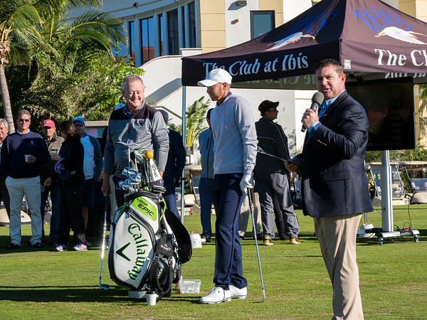 Golf Clinic with Daniel Berger & Martin Hall - Dec 2017