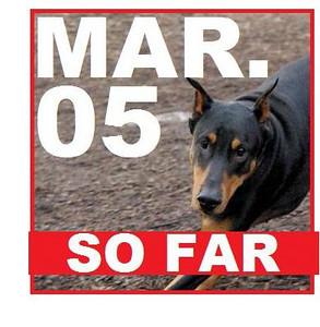 05 MARCH (so far)