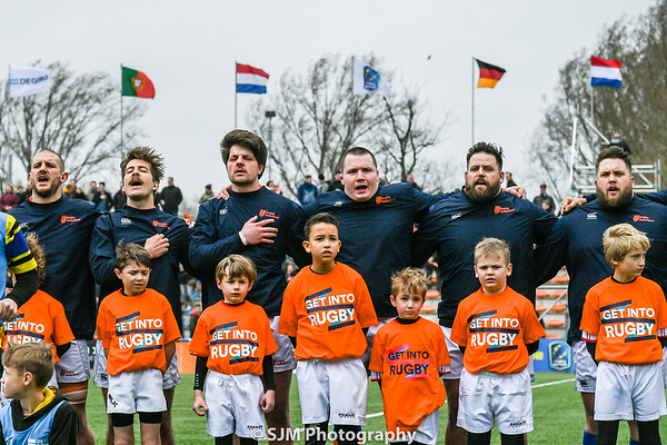 TeamNL Heren XV vs Rugby Portugal - 9 March 2019