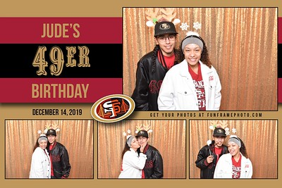 Jude's 49er Birthday Party