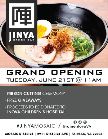 JINYA Ramen Preview Event