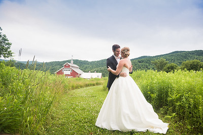 Emily & Zach: Married at the West Monitor Barn, Richmond Vermont