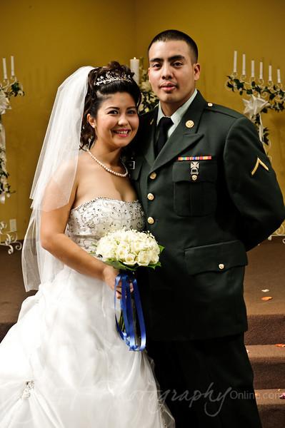Post Ceremony Portraits
