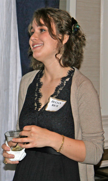 Jillian Rich, PMC, one of the recipients of the Innovation in Green Community Planning Award of Merit for the 2009 San Carlos Climate Action Plan