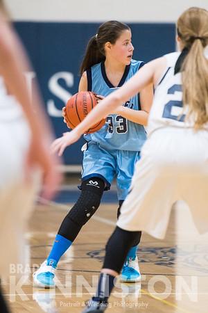 1-24-17 Garber JV Girls Basketball