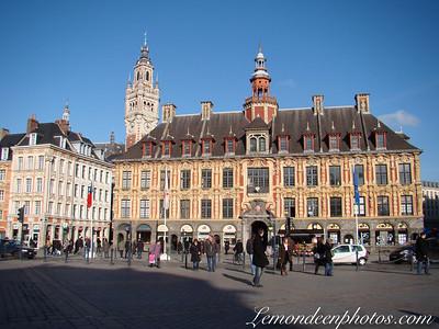 Le centre ville de Lille