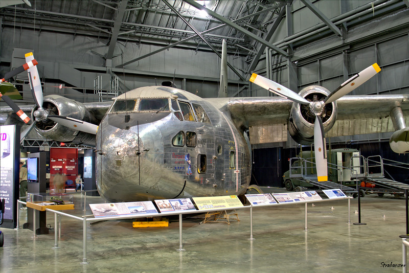 National Museum of the United States Air Force, Dayton, Ohio,   04/13/2019  Fairchild C-123K-17-FA Provider C/N 20246  56-4362  This work is licensed under a Creative Commons Attribution- NonCommercial 4.0 International License.