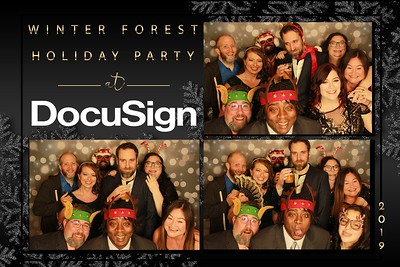 DocuSign Holiday Party 2019