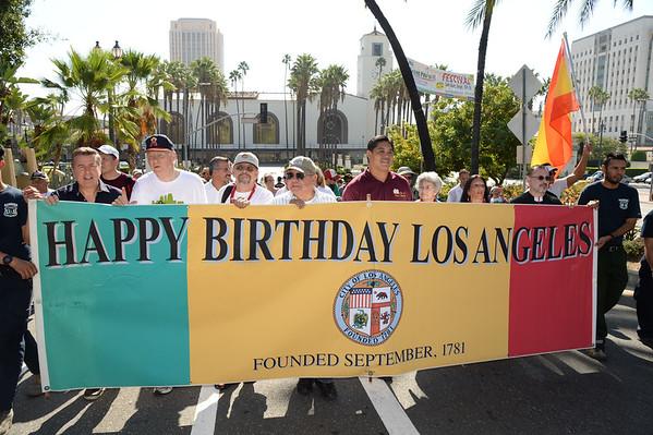 Los Pobladores Historic Walk to Los Angeles