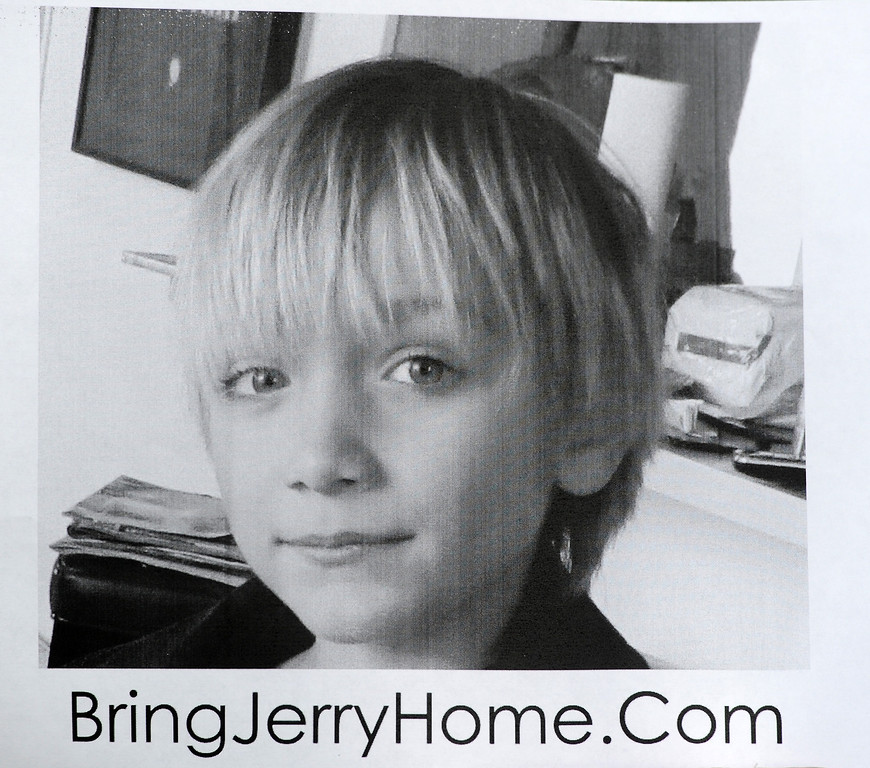 """. 10-year-old Robert \""""Jerry\"""" Pfeifer, has been missing since June 2012. (Photo by Michael Owen Baker/L.A. Daily News)"""