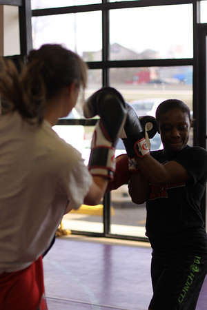 Muay Thai Workshop with Jonathan Borders 02.19.11