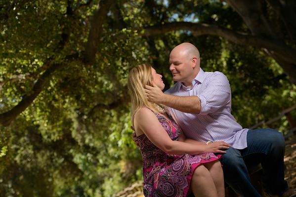 Kathleen and Stephen (Engagement Photography) @ Vasona Park, Los Gatos