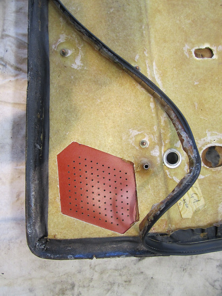 Repairing door card