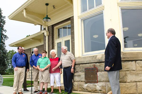 Herb Rock Plaza Dedication