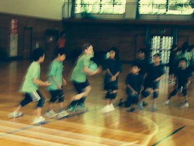 Green Fairies Dodgeball Camp Aug 2014