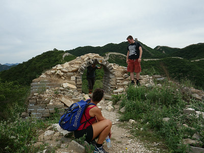 Chen castel Great wall hiking camping