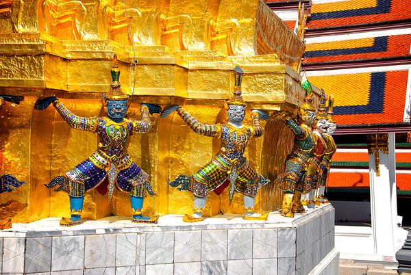 Grand Palace  - Bangkok , Thailand