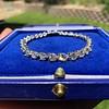 10.50ctw Round Brilliant Diamond Tennis Bracelet 34