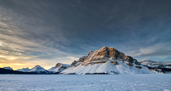 """Winter"" in the Canadian Rockies"