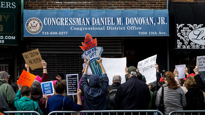 Donovan was not there but his voters were!
