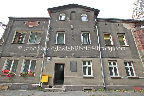 POLAND, Bedzin. Jewish Hospital (former), across from cemetery. (9.2011)