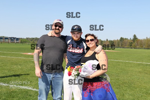 SLC VARSITY BASEBALL SENIOR GAME  5/16/2018