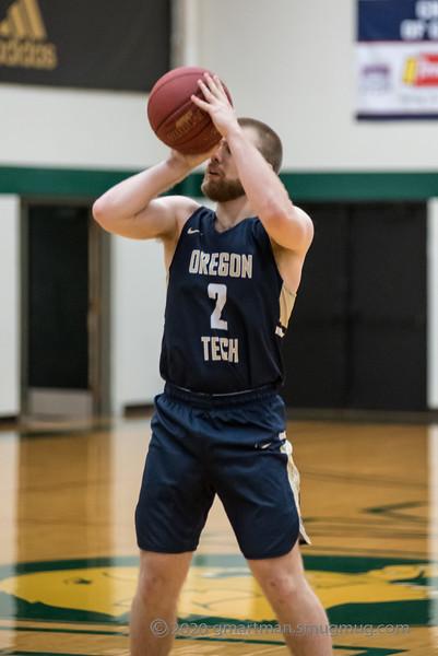 2020 Oregon Tech Mens Basketball at Multnomah U
