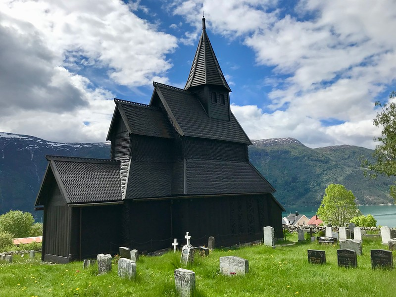 Urnes Stave Church. The oldest of the stave church in Norway.