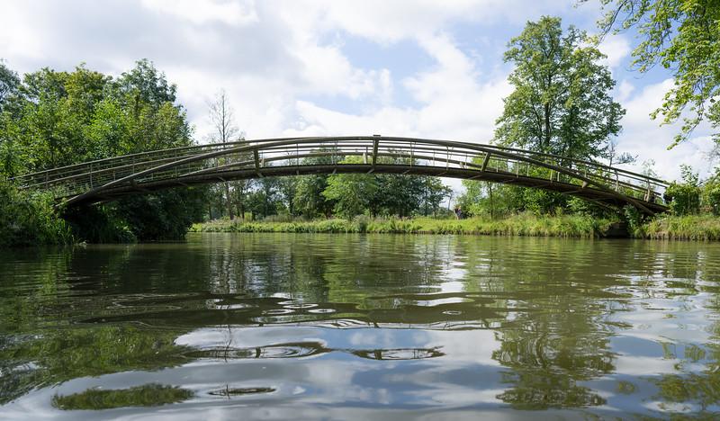 Bridge Over the Cherwell, Oxford (Aug 2021)