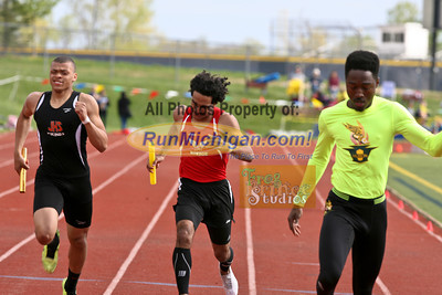 2014 MHSAA Region 3-1 B800m Relay