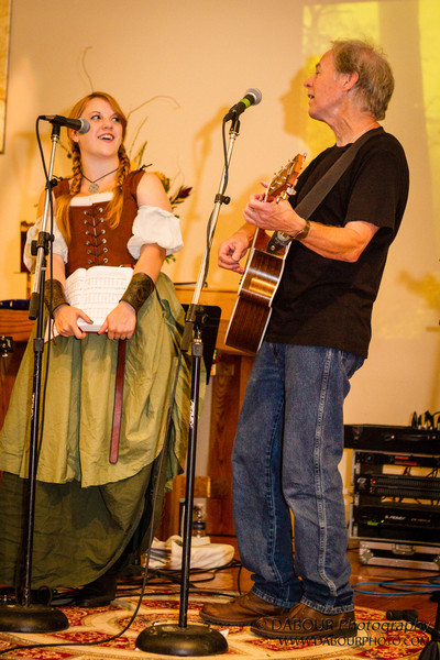 Bailey performs at the Fran McKendree Concert at Church of the Holy Spirit Oktoberfest