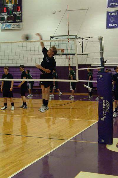2005 Varsity Volleyball vs. Sycamore