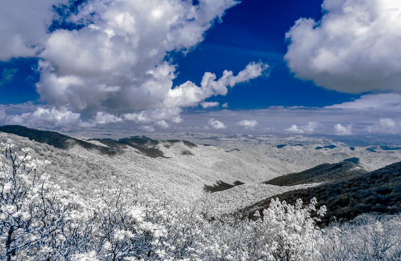 Craggy Gardens Trail - Blue Ridge Parkway, North Carolina - 2021