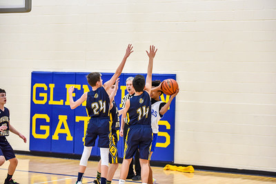 12/12 - Jordan 8th Basketball vs Glenview