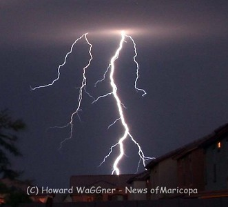 Random Lightning from Maricopa