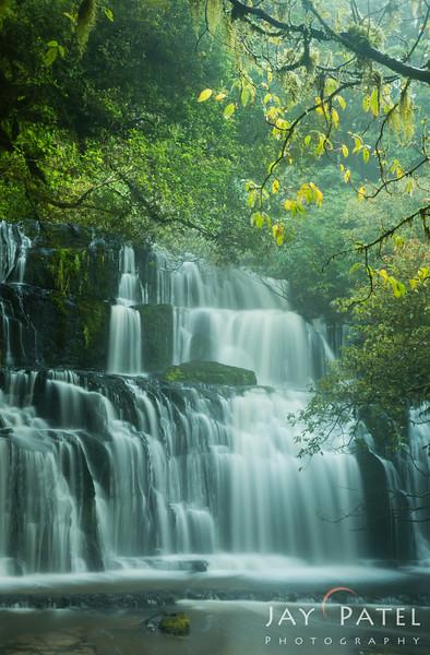 Purakaunui Falls, Catlins, New Zeland