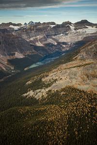 Boom Lake, Banff National Park, Alberta, Canada.